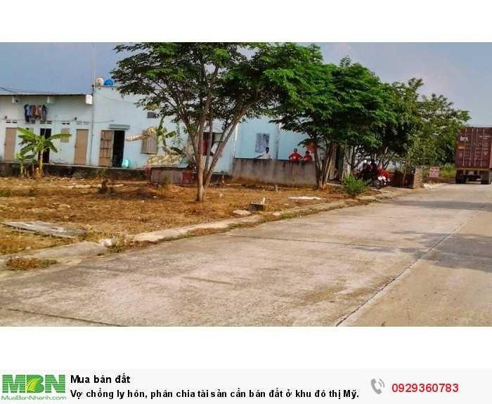 Phân chia tài sản cần bán đất ở khu đô thị Mỹ Phước 3