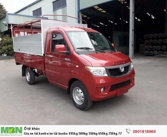 Gía xe tải Kenbo/xe tải kenbo 495kg 500kg 550kg 650kg 750kg 770kg 870kg 900kg 990kg 1t trả góp 90%