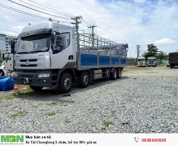 Xe Tải Chenglong 5 chân, hỗ trợ 90% giá xe