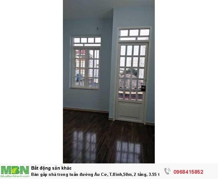 Bán gấp nhà trong tuần đường Lạc Long Quân, T.Bình,50m, 2 tầng