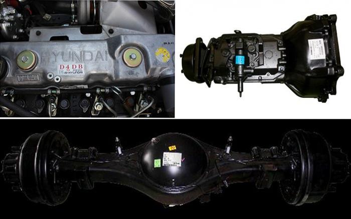 Hyundai HD700 sản xuất năm  Số tay (số sàn)