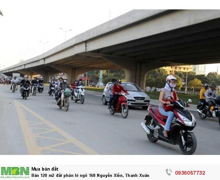 Bán 120 m2 đất phân lô ngõ 168 Nguyễn Xiển, Thanh Xuân