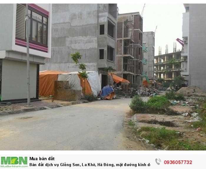 Bán đất dịch vụ Giếng Sen, La Khê, Hà Đông, mặt đường kinh doanh