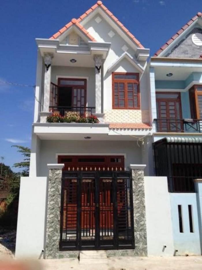 Nhà phố MT 1 trệt ,1 lầu đường Bùi Thanh Khiết 5x20m , SHR giá 700 triệu
