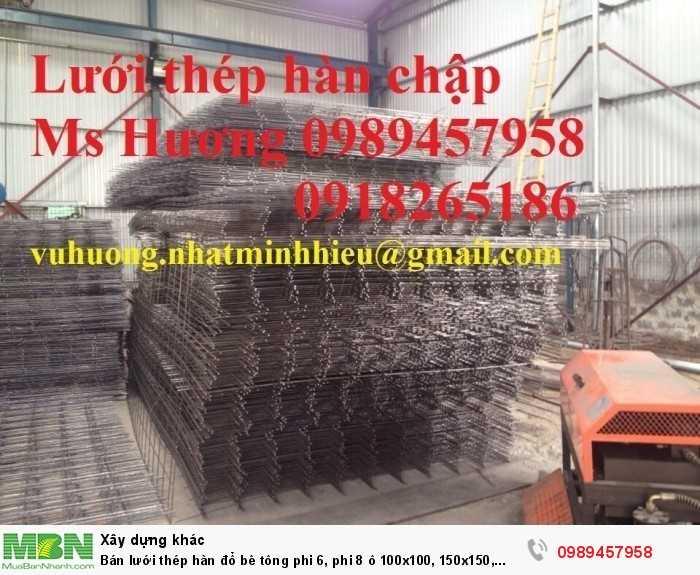 Bán lưới  thép hàn đổ bê tông phi 6, phi 8 ô 100x100, 150x150, 200x200, 250x250 tại Hà Giang giá rẻ nhất1