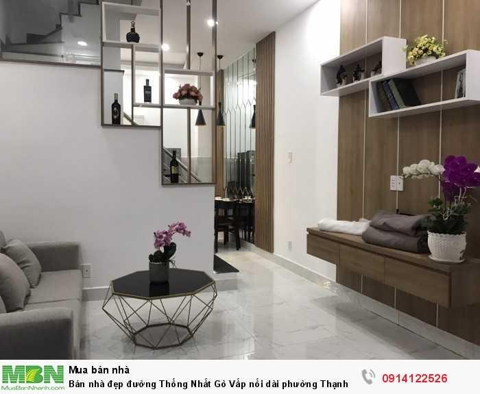 Bán nhà đẹp đường Thống Nhất Gò Vấp nối dài phường Thạnh Xuân Q12