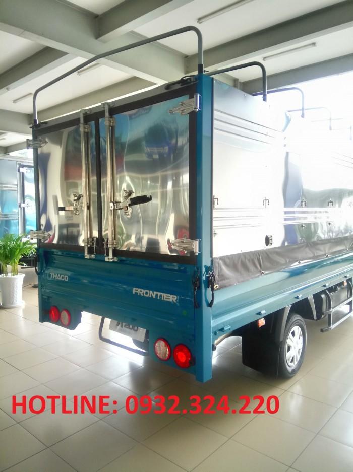 Xe tải 1.9 tấn  KIA K200. Động cơ, số, cầu HYUNDAI. Xe tại Bình Dương