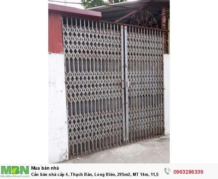 Cần bán nhà cấp 4, Thạch Bàn, Long Biên, 295m2, MT 14m