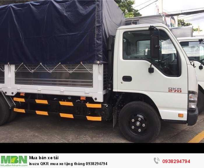 isuzu QKR mua xe tặng thùng 1