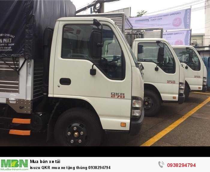isuzu QKR mua xe tặng thùng 2