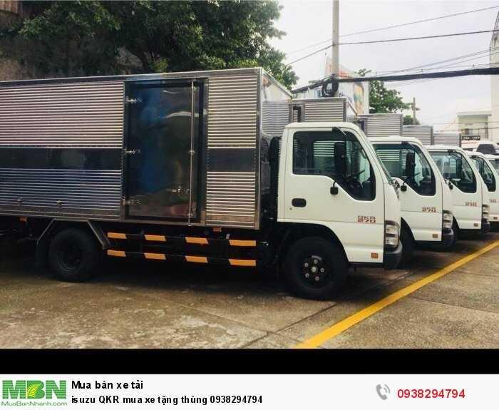 isuzu QKR mua xe tặng thùng 3
