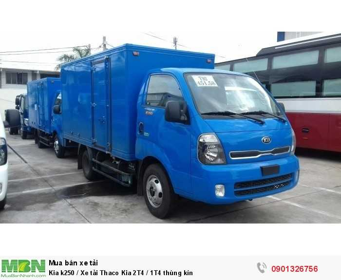 Kia k250 / Xe tải Thaco Kia 2T4 / 1T4 thùng kín 2