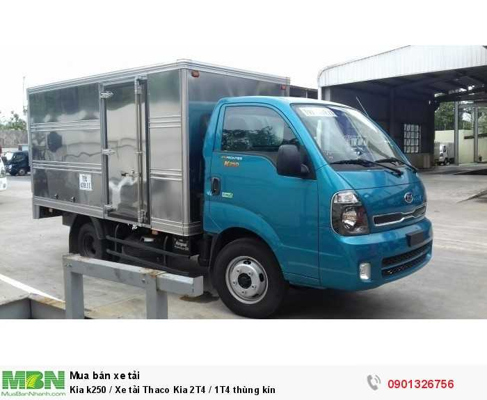 Kia k250 / Xe tải Thaco Kia 2T4 / 1T4 thùng kín 3