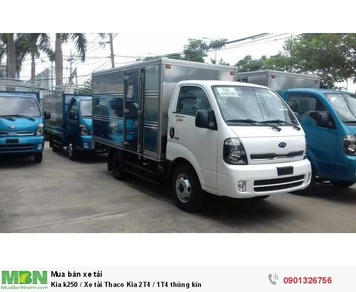 Kia k250 / Xe tải Thaco Kia 2T4 / 1T4 thùng kín 5