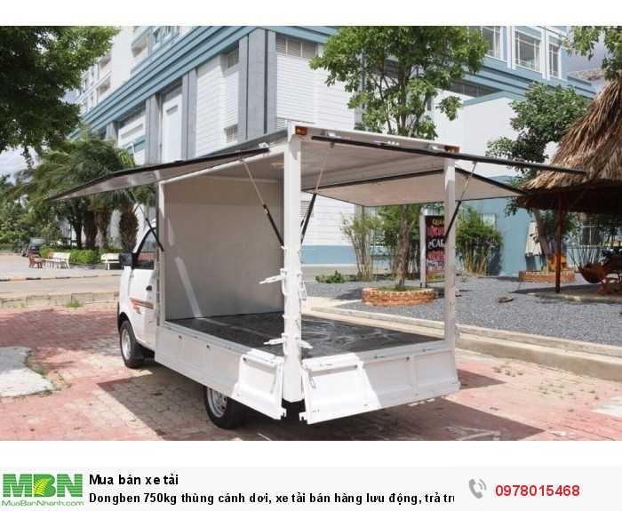 Dongben 750kg thùng cánh dơi, xe tải bán hàng lưu động, trả trước 30 triệu - Giao xe ngay - Gọi 0978015468 (Mr Giang 24/24)