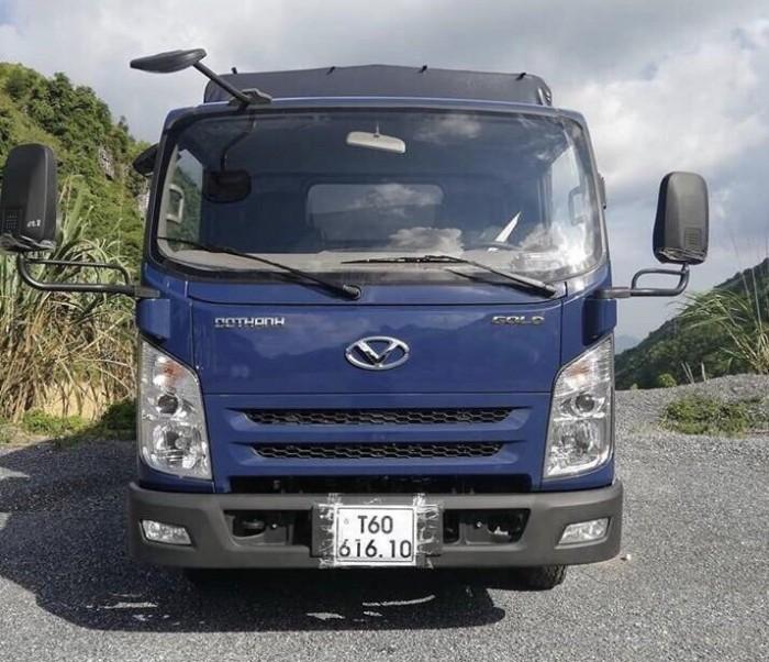 Khuyến mãi mua xe tải Đô Thành IZ65 Gold, thùng mui bạt, tải trọng 2.5 tấn - Trả trước 80 triệu - Giao xe ngay - Gọi 0978015468 (Mr Giang 24/24)
