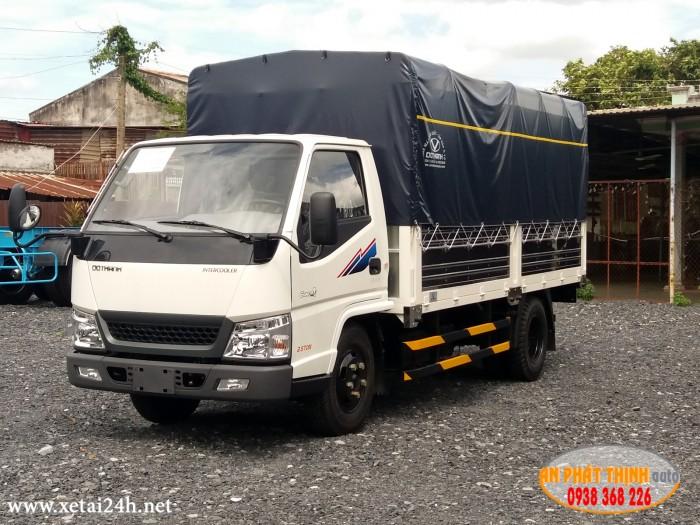 XE TẢI ĐÔ THÀNH IZ49 tải trọng 2.3 tấn, thùng dài 4.2 mét, đời 2018