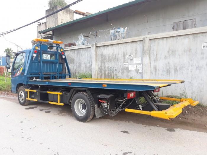 Xe cứu hộ giao thông Thaco 500B càng kéo chở xe