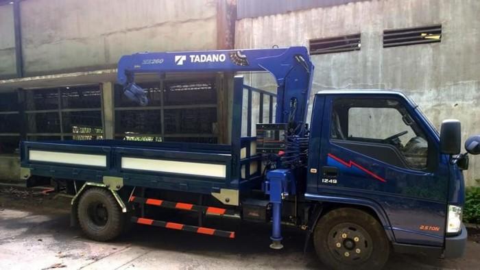 Khuyến mãi mua xe tải Hyundai IZ49 gắn cẩu 3 tấn - Gọi 0978015468 (Mr Giang 24/24)
