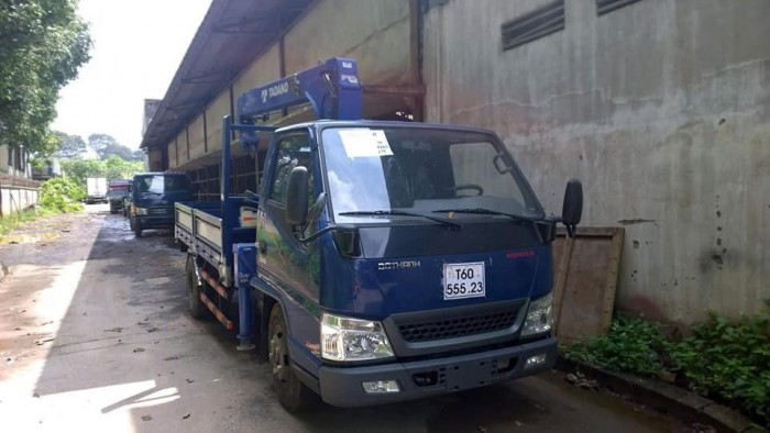 Xe tải Hyundai IZ49 gắn cẩu 3 tấn - Gọi 0978015468 (Mr Giang 24/24)