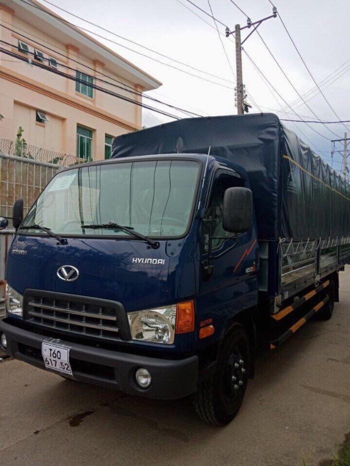 Mua xe tải Hyundai HD120SL 8.5 tấn, thùng mui bạt dài 6m3, trả trước 100 triệu - GIAO XE NGAY - Gọi 0978015468 (Mr Giang 24/24)