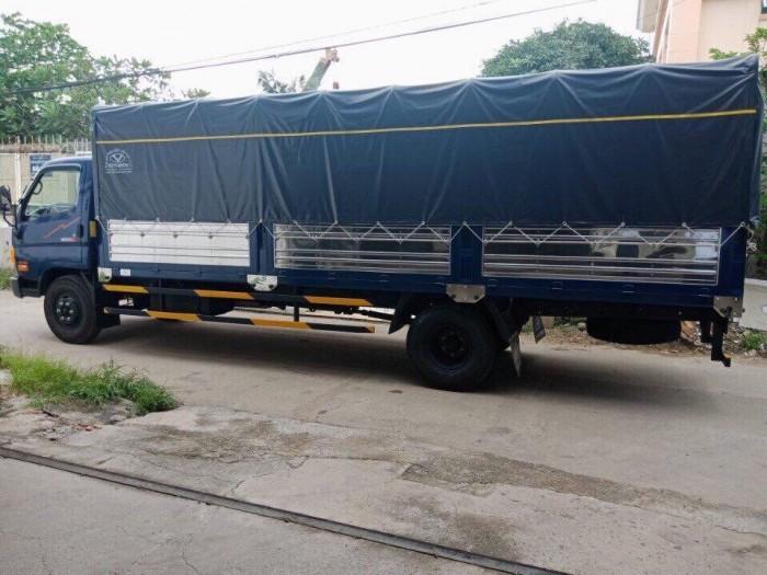 Khuyến mãi mua xe tải Hyundai HD120SL 8.5 tấn, thùng mui bạt dài 6m3, trả trước 100 triệu - GIAO XE NGAY - Gọi 0978015468 (Mr Giang 24/24)