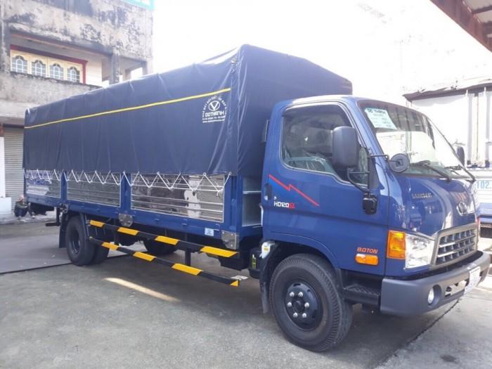Mua trả góp xe tải Hyundai 8.5 tấn, thùng mui bạt - GIAO XE NGAY - GỌI 09780154568 (Mr Giang 24/24)
