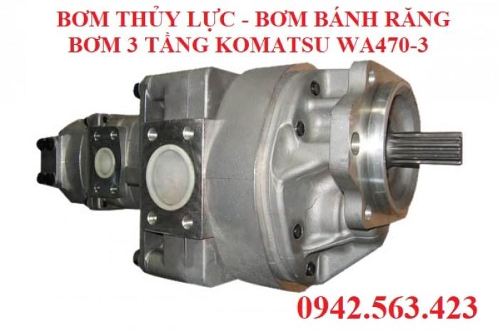 Bơm thủy lực Komatsu WA450-3