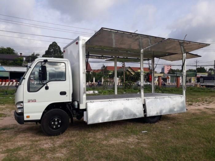 Xe tải ISUZU thùng cánh dơi bán hàng lưu động, trả trước 100 triệu - Gọi 0978015468 (Mr Giang 24/24)