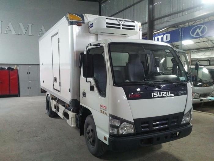 Xe tải ISUZU 2.4 tấn QKR270, thùng đông lạnh - Trả trước 100 triệu, giao xe ngay - GỌI 0978015468 (Mr Giang 24/24)