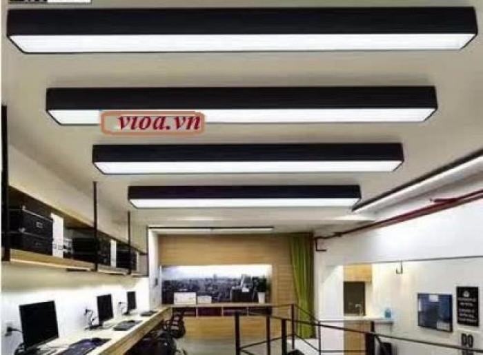 Máng đèn led - máng hộp thả trần 200x12000