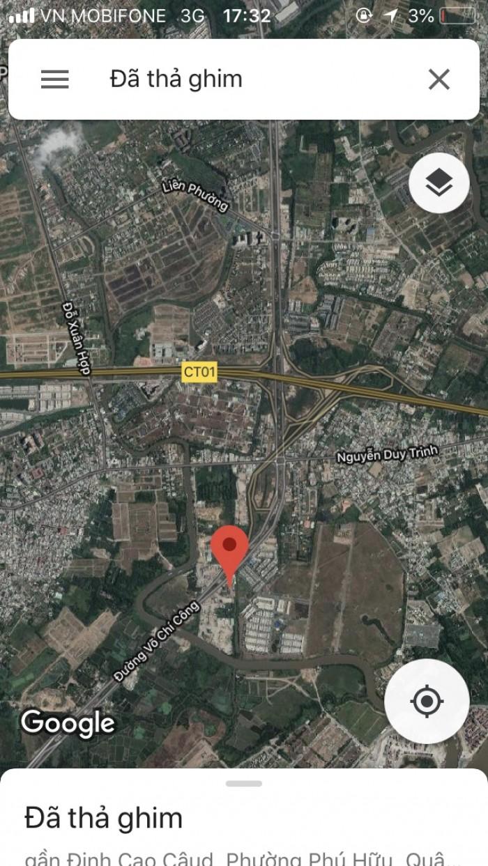 Bán đất đường Võ Chí Công, phường Phú Hữu, Quận 9
