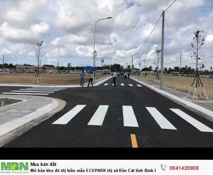 Mở bán khu đô thị kiểu mẫu ECOPARK thị xã Bến Cát tỉnh Bình Dương