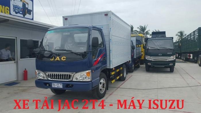 Giá xe tải JAC 2T4|xe tai jac 2.4T| xe tai Jac 2,4 tấn (2 tấn 4) tốt nhất