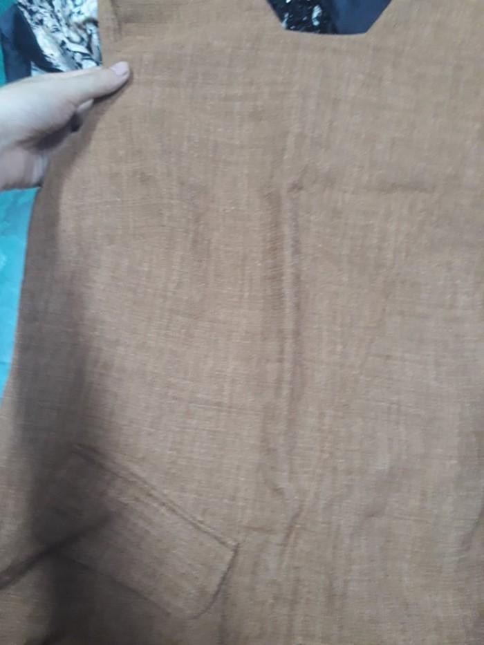 Đầm Suông Công Sở Đắp Túi0