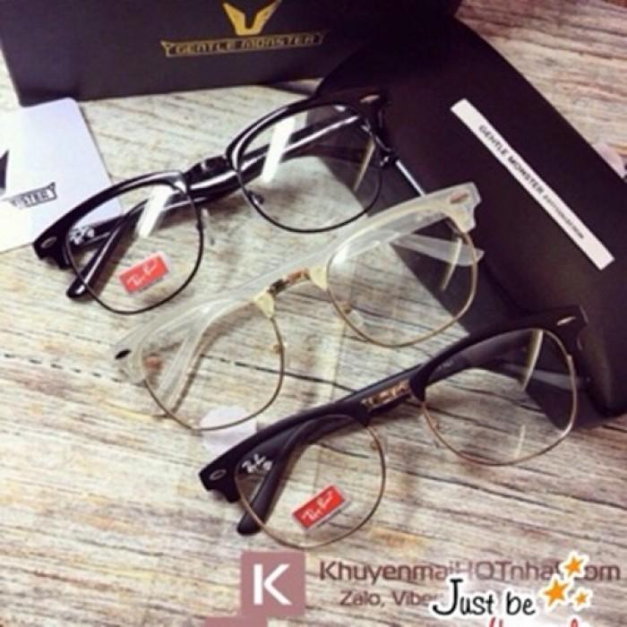 Mắt Kính Giả Cận Style Korea + Tặng kèm túi đựng kính7