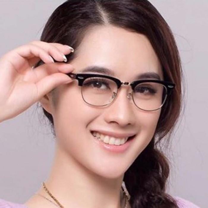 Mắt Kính Giả Cận Style Korea + Tặng kèm túi đựng kính1