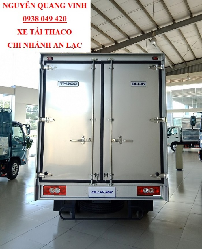 Xe Tải Thaco Ollin 360 - Thaco Trường Hải - Ga Cơ 2017 - Tải 2,2 T - Thùng Dài 4m25 - Còn 1 Xe Duy Nhất