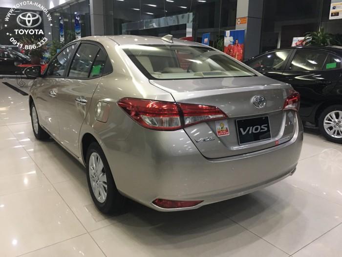 Bán xe Toyota Vios 1.5G 2018 - 2019 (Bản cao cấp) - Giá Tốt, Ưu đãi lớn phụ kiện