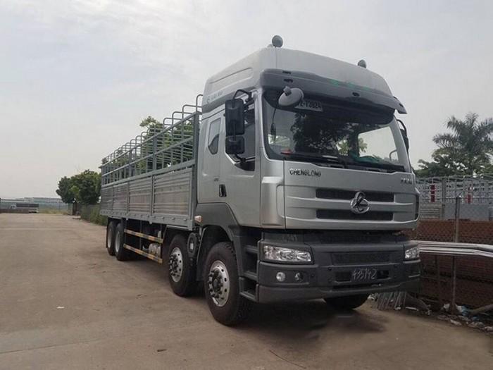 Xe chenglong 4 chân 17T9, xe tải chenglong hải âu đời 2017