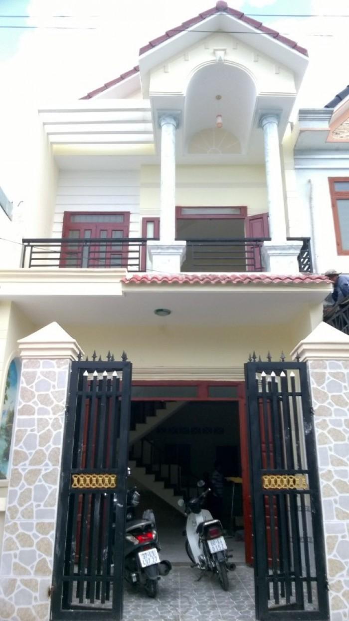 Nhà 1 trệt 1 lầu.Dt 80m2.vị trí nhà đẹp,gần chợ gần trường học