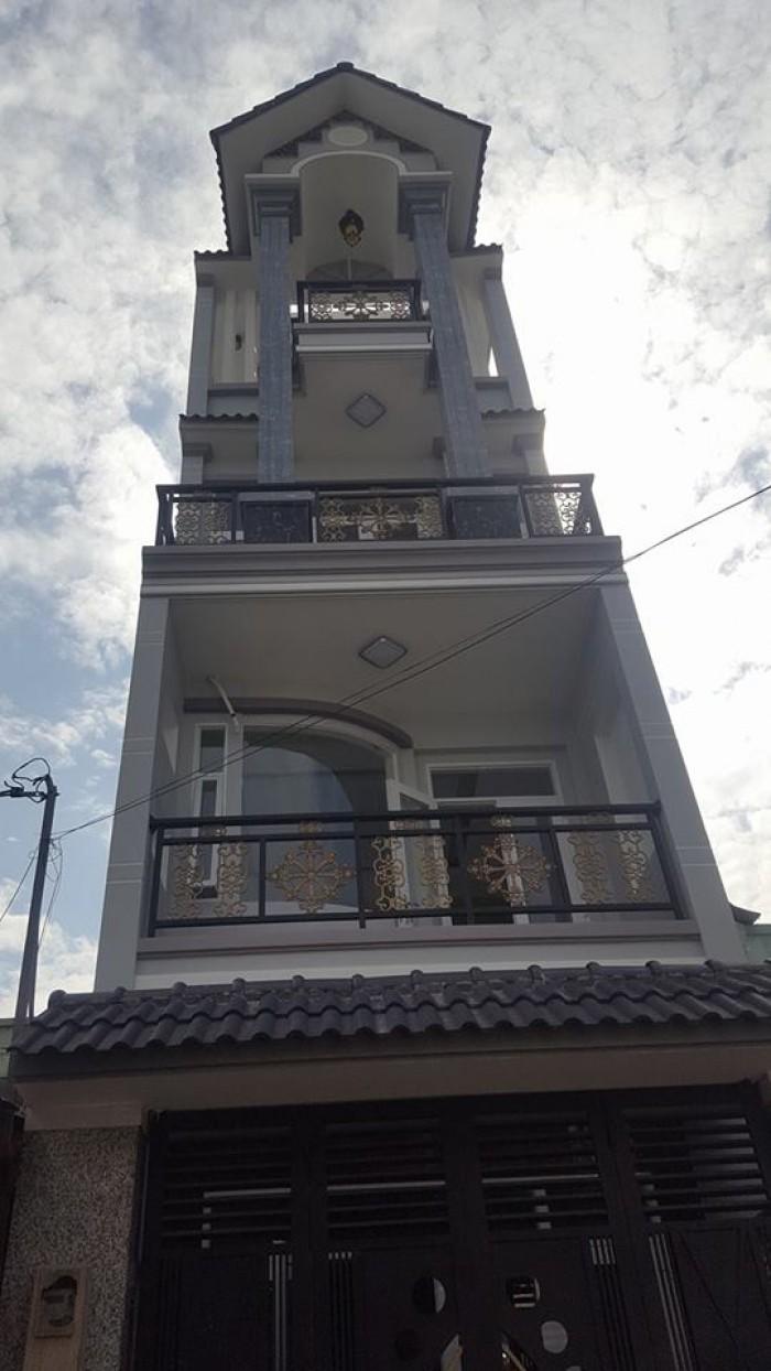 Nhà 352/ Lê Văn Quới, diện tích: 4mx18m xây 3.5 tấm