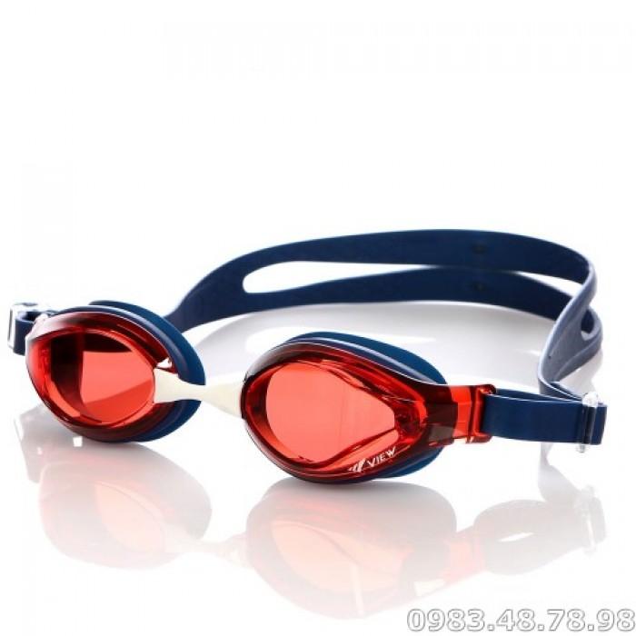 Kính Bơi Trẻ Em Nhật V760 Đỏ 6-12 Tuổi0