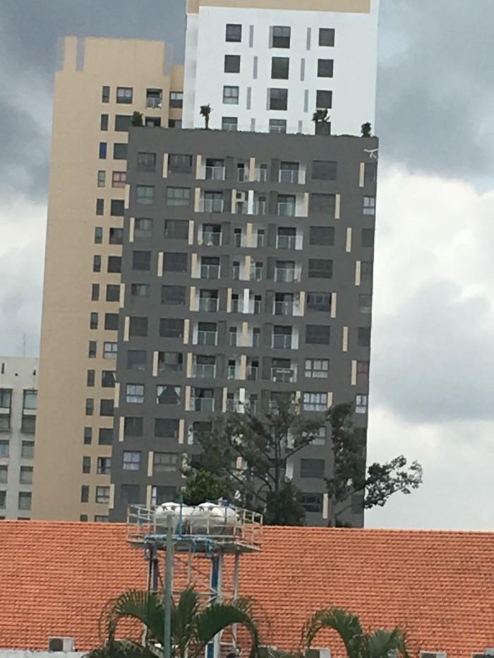 Bán tòa nhà 9 tầng Lam Sơn P2  Tân bình 10x30