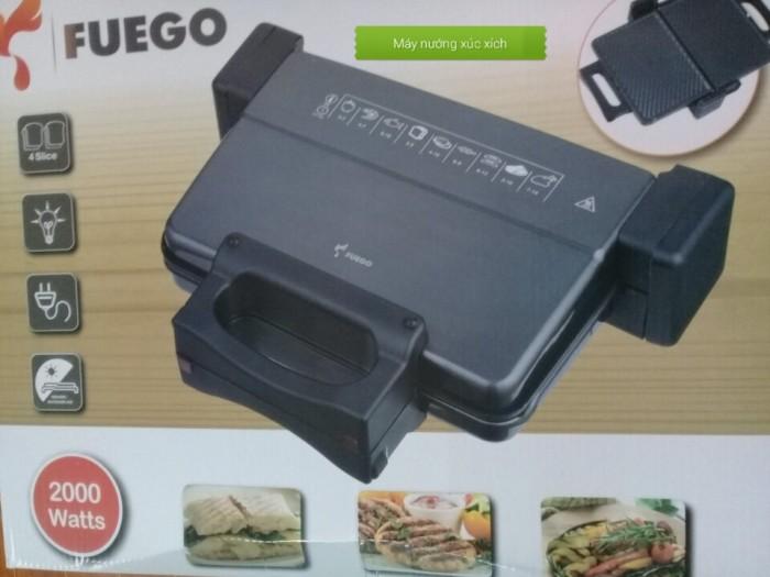 Máy kẹp nướng bánh mỳ FuEgo thế hệ mới2