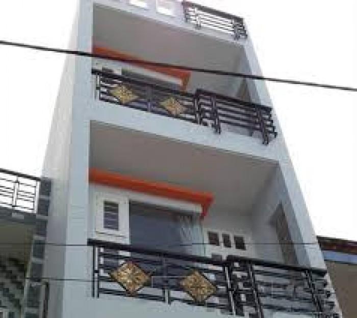 Bán nhà riêng mặt tiền đường huyện Bình Chánh,1 trệt 2 lầu