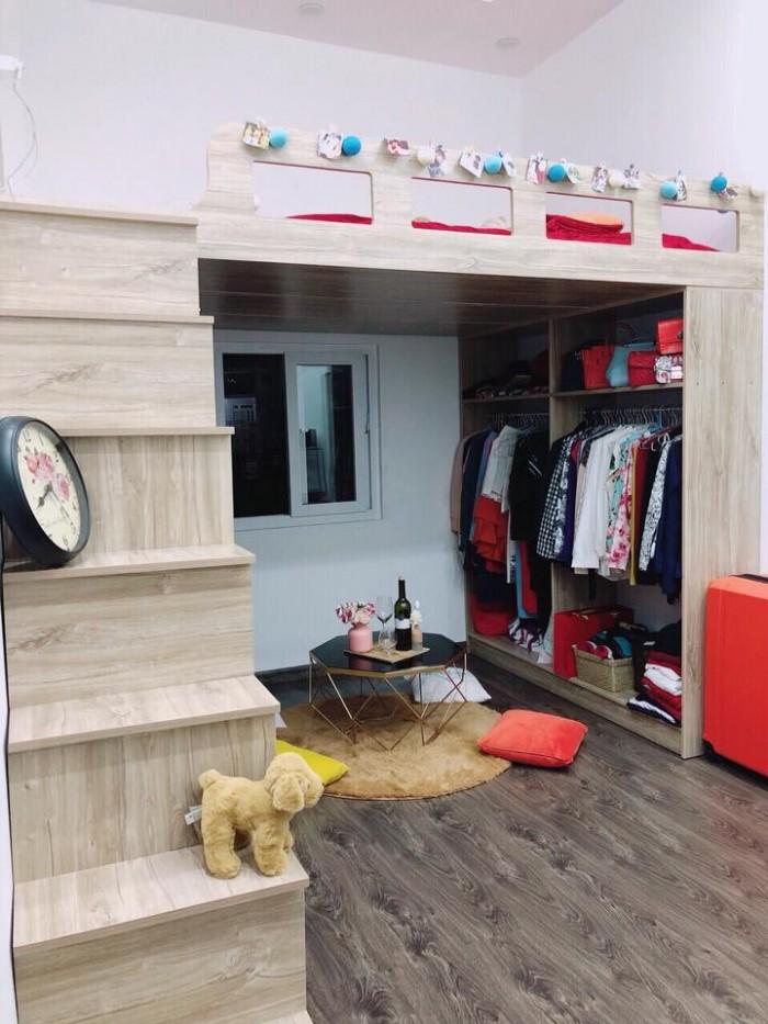 Bán nhà Trần Huy Liệu - Đầu tư, HĐ cho thuê 60tr/tháng, 5 tầng, 12 căn hộ cho thuê đẹp lung linh