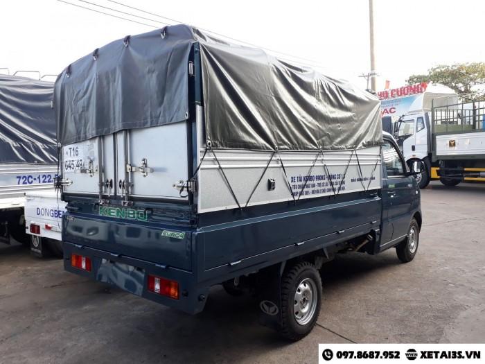Xe tải KENBO 500kg 550kg 600kg 900kg thùng bạt tôn kín tải trọng 990 kg (1 tấn)