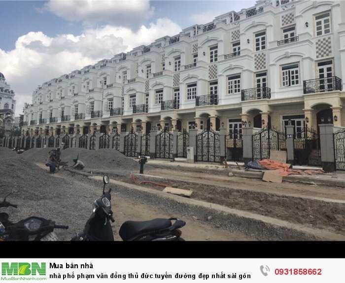 Nhà Phố Phạm Văn Đồng Thủ Đức Tuyến Đường Đẹp Nhất Sài Gòn