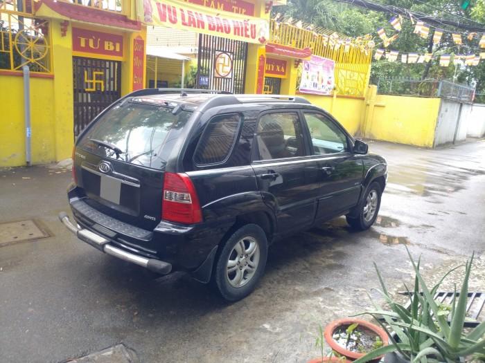 Mình cần bán Kia Sportage đen mt 2008 hai cầu máy dầu xe rất đẹp. 1